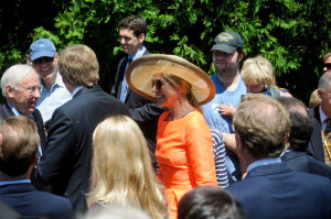 Bill Eerdmans Maynard Flikkema and Royal couple (3) MLive