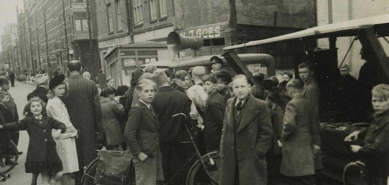 Amsterdam in April 1944