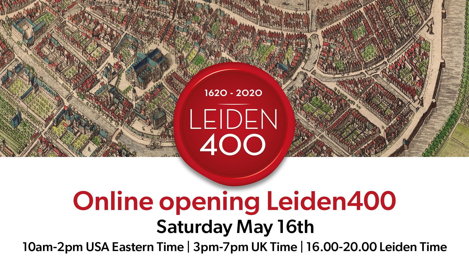 Leiden 400 Mayflower Celebration May 16